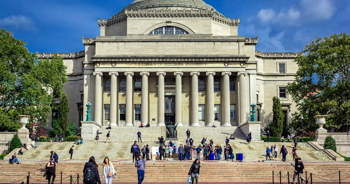 Students at Columbia University